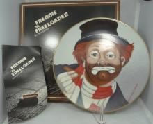 Lot of (3) Red Skelton Limited Edition Signed Collectors Plates in Original Boxes W/Leaflets
