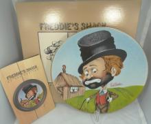 Lot of (2) Red Skelton Limited Edition Signed Collectors Plates in Original Boxes W/Leaflets