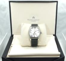 MAURICE LACROIX Masterpiece MP6119 Swiss Jours Retrograde Tounneau New in Box W/Papers