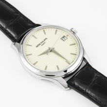 Patek Philippe Calatrava 18K White Gold Men's Automatic Watch Brand New in Original Box W/Papers