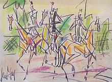 GEN PAUL (Eugène Paul),  1895-1975 [FR]. - Cavaliers,