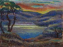 OLSOMMER Charles-Clos, 1883-1966 [CH]. - Paysage imaginaire,
