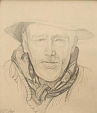 BIÉLER Ernest,  1863-1948 [CH]. - Banneret à Savièse,