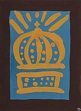 DUBUIS Fernand,  1908-1991 [CH]. - Le couronnement , c. 1982,