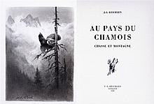 PORET Xavier de - REICHLEN Jean-Louis. - Au pays du chamois, 1938.
