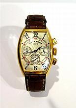 FRANCK MÜLLER. - Montre chronographe, Master of Complications.