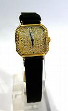 PIAGET. Montre. (long. 19 cm, diam. 18 mm).