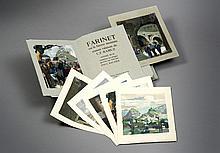 ROZ André - RAMUZ Charles-Ferdinand. Farinet ou la fausse monnaie, 1938.  (34.5 x 27.5 cm)