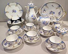 Manufacture royale de Berlin (KPM), 1763 > [DE]. Service à thé et café, début XXe s.