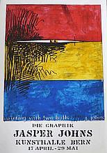 JOHNS Jasper, *1930 [USA]. Affiche d'exposition