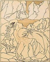 OLSOMMER Charles-Clos, 1883-1966 [CH]. Veska aux c