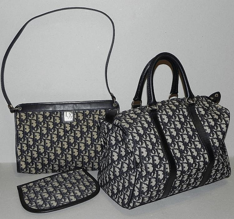 Sac A Main Blanc Christian Dior : Christian dior deux sacs ? main et une trousse