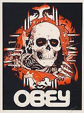 *OBEY GIANT (Shepard FAIREY), *1970 [USA].