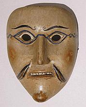 Masque, canton de Schwytz, première moitié du XXe