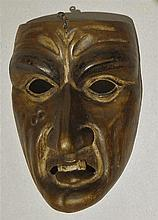 Masque, canton de Lucerne, XXe s. (haut. 20.5 cm)