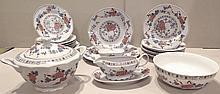 Service de table, Roumanie, XXe s.   En porcelain