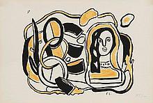 LÉGER Fernand, 1881-1955 [FR]. Lot de huit sérigra