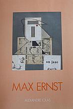 ERNST Max,  1891-1976 [DE / FR]. Affiche d'exposition