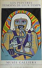 LHOTE André,  1885-1962 [F]. Affiche d'exposition