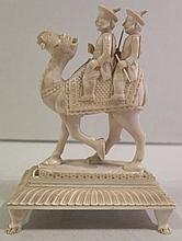 Sujet en ivoire, Inde, début XXe s.