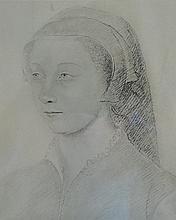 Lot de six reproductions représentant des portraits.