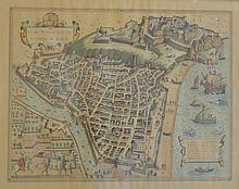 Carte de Nice, XVIIIe siècle,