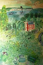 DUFY Raoul,  1877-1953 [FR]. Paysage,