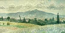 REYMOND Casimir,  1893-1969 [CH]. Paysage, (19)67,