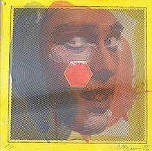 PFUND Roger, *1943 [CH]. - Portrait de femme, (20)06,