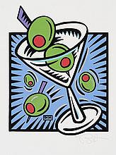 MORRIS Burton, *1964 [USA]. - Martini (Purple),