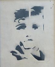 PFUND Roger, *1943 [CH]. - Portrait, (19)75,
