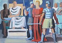 MEYLAN Henry,  1895-1980 [CH]. - Ensemble de trente-neuf dessins, encres, aquarelles, pastels et gouaches représentant des sujets divers.