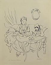 MEYLAN Henry,  1895-1980 [CH]. - Ensemble de dessins pour
