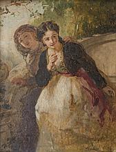 SCHLÉSINGER Henri-Guillaume,  1814-1893 [FR]. - Les courtisanes, 1852,