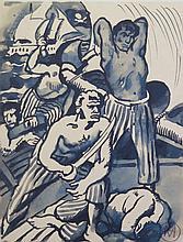 MEYLAN Henry,  1895-1980 [CH]. - Ensemble de onze dessins et aquarelles.