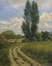 JOURDAIN Roger Joseph,  1845-1918 [FR]. - Chemin de campagne,