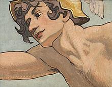 ECOLE GENEVOISE (Erich HERMES ou Frédéric Auguste DUFAUX), 19 < 20 [CH]. - Hermès,