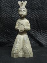 A Fine Chinese Carved Stone Figure