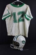 Football jersey/helmet: