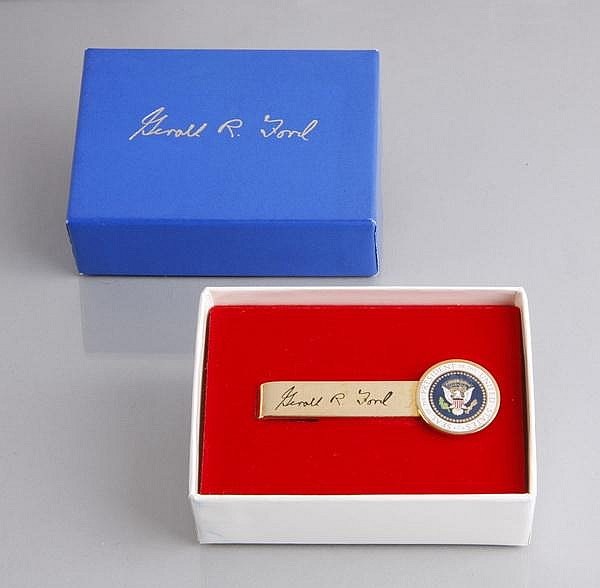 Ford White House Presidential tie clip