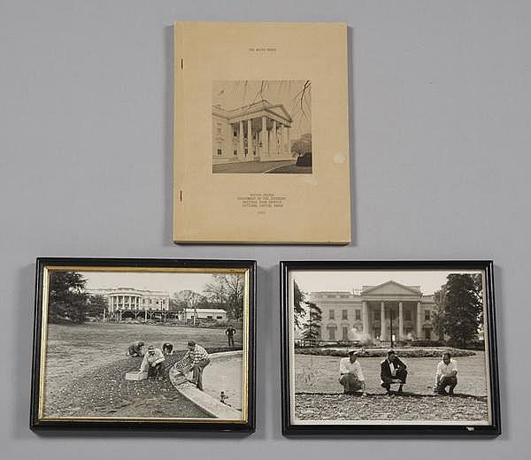 (3) Truman White House mementos