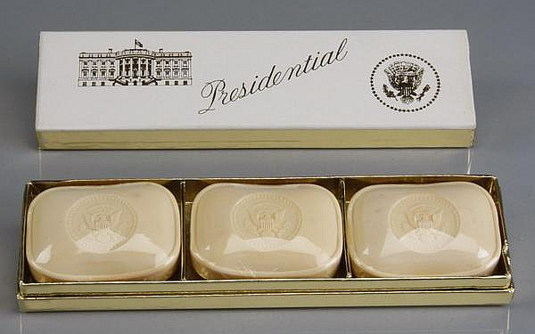 Kennedy White House boxed gift soap