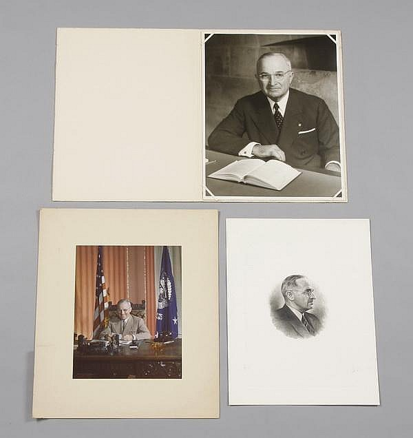 (3) Truman White House photographs