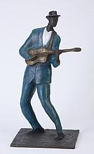 William Tolliver signed bronze sculpture