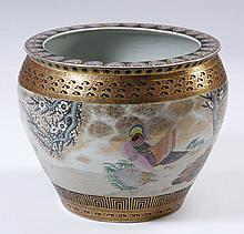 Early 20th c. Japanese fishbowl