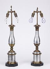 (2) Mid 20th c. table lamps