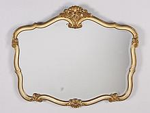 Early 20th c. beveled mirror