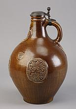 Vintage German-Austrian wine jug