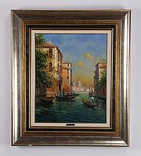 Eduardo Payes signed oil on canvas