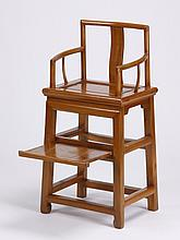 Mid 20th c. Chinese child's chair